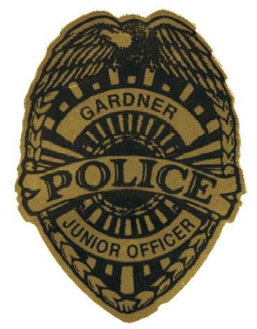 Stick On Jr. Police Badges - #3302
