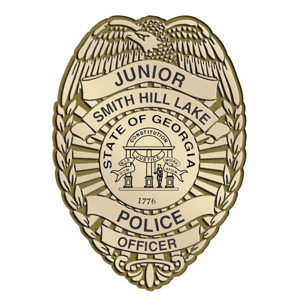 Plastic Clip-On Jr Police Shield