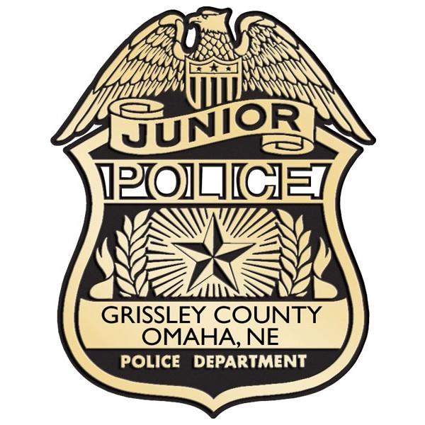 Plastic Clip-On Jr Police Badges