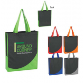 Tote Bag with Accent Trim