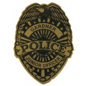 Sitck On Jr. Police Badges - #3302