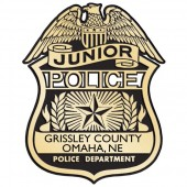 Plastic Clip-On Jr Police Badges