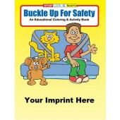 Activity Book: Buckle Up For Safety #0225