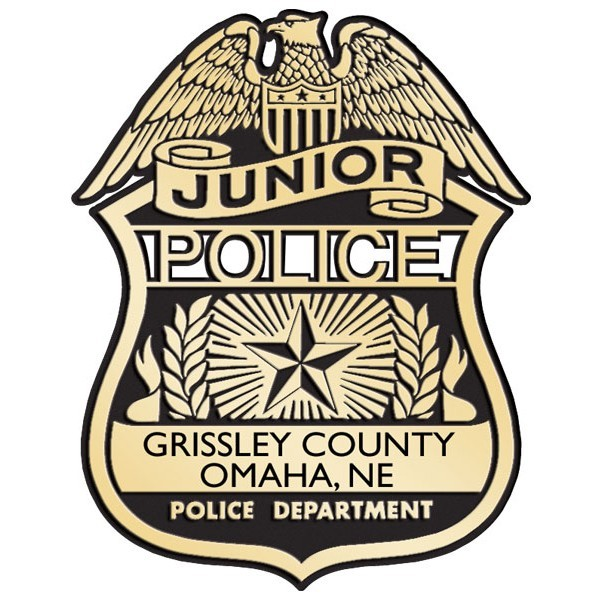 Plastic Clip-On Jr Police Badges - #2111G