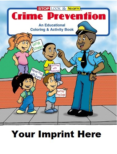 Activity Book: Crime Prevention #0180