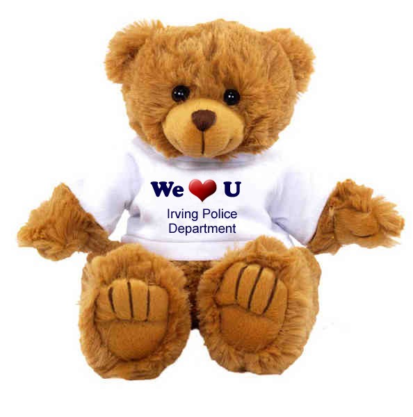 We Love U teddy bear - #S2132