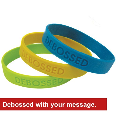 Silicone Wristbands - #WB