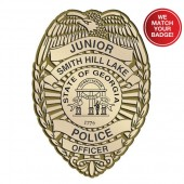 Plastic Clip-On Jr Police Shield - #2066G