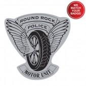 Custom Stick-On Jr Badges - #3199C