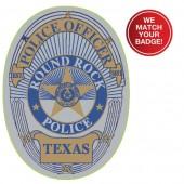 Multi Color Custom Jr Badges - #3199MC
