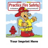 Activity Book: Practice Fire Safety #0190