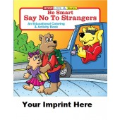 Activity Book: Be Smart, Say No To Strangers #0140